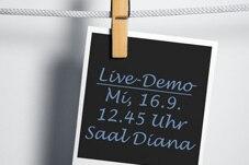 Live-Demo Pharma-Kongress